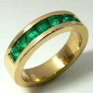 INCREDIBLE COLOMBIAN EMERALD UNISEX RING