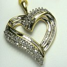 SUBLIME DIAMOND HEART PENDANT