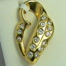 DREAMY DIAMOND HEART PENDANT .75 CTS