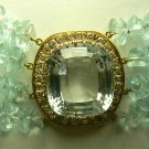780cts Movie Star Ready! MultiStrand Aquamarine & Diamond Necklace