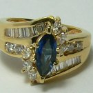 1.50tcw Heavenly! Sapphire & Diamond Cocktail Ring