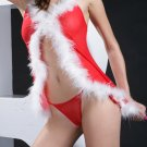 ~ Festive Babydoll With Marabou Trim ~