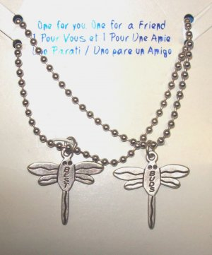 Jewelry for Teens and Tweens, Best Friends Necklaces w/ dragon flies**