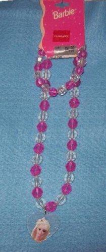 Children's Jewelry, Barbie, 2 piece Bracelet and Necklace Set