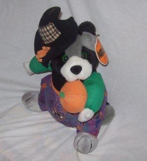 Halloween Decorations, Plush Toy, Stuffed Raccoon