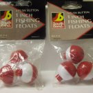"Fishing Tackle, Southbend 1"" push button fishing floats"