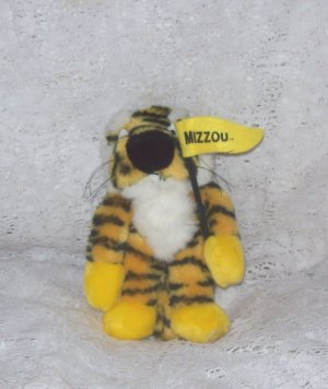 Stuffed Animal, Plush Toy,Mizzou stuffed Tiger - Missouri Collegiate licensed product