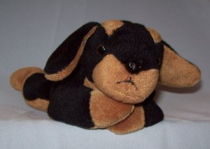 Stuffed Animal, Plush Toy, Ty beanie baby Doby the Dog- 1996