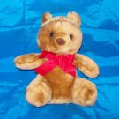 Stuffed Animals, Plush Toys, Bears - brown bear with large red bowtie