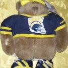 Stuffed Animals, Plush Toys,  Bears -NFL TEAM Chargers Bear