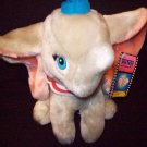 STUFFED ANIMALS -  Plush Toy-  Dumbo the Elephant by Disney, color: grey with pink ears