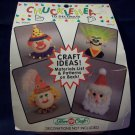 3 inch Doll heads called Chuckle Heads, soft plastic