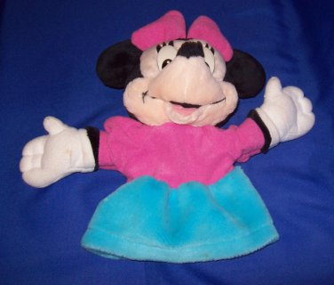 Plush toy, Minnie Mouse Adult hand puppet