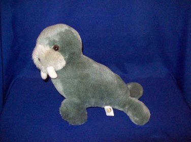Stuffed Animal, Plush Toy, Grey Walrus by Good Stuff