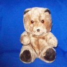Stuffed Animals, Plush Toys,  Bears - brown bear with dark brown paws,