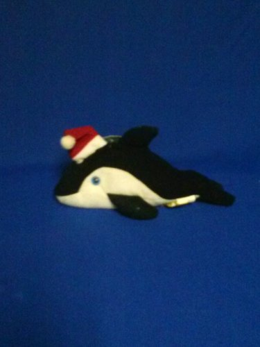**Stuffed Animal, Plush Toy,  Bean Bag Whale, collector tag intact