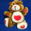 STUFFED ANIMALS -  care bear look-a-like, red heart on chest, Cuddletown Friends