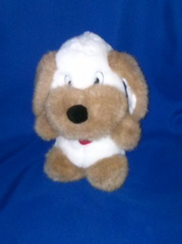 Stuffed Animal, Plush Toy, Brown and white Dog, Cuddle WIT Creations