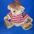 Stuffed Animals, Plush Toys, The brass button heart collection bear