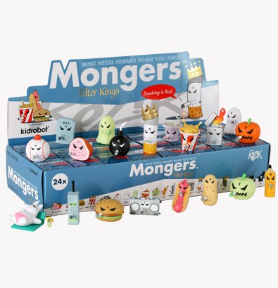 Mongers Filter Kings Sealed Case