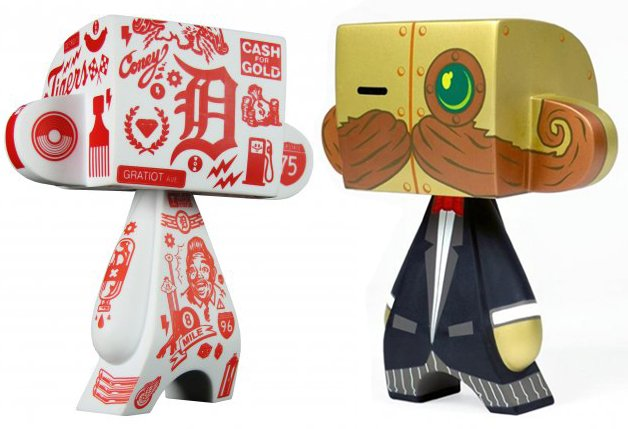 """COMBO PACK: Doktor A. and Tristan Eaton 5"""" Mad*L *FREE SHIPPING*"""