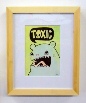 """Toxic Bear"" by Kill Taupe"