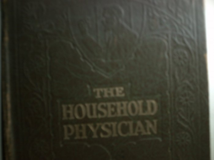 Antique Medical Book - 'Homeopathic Treatment of Diseases'