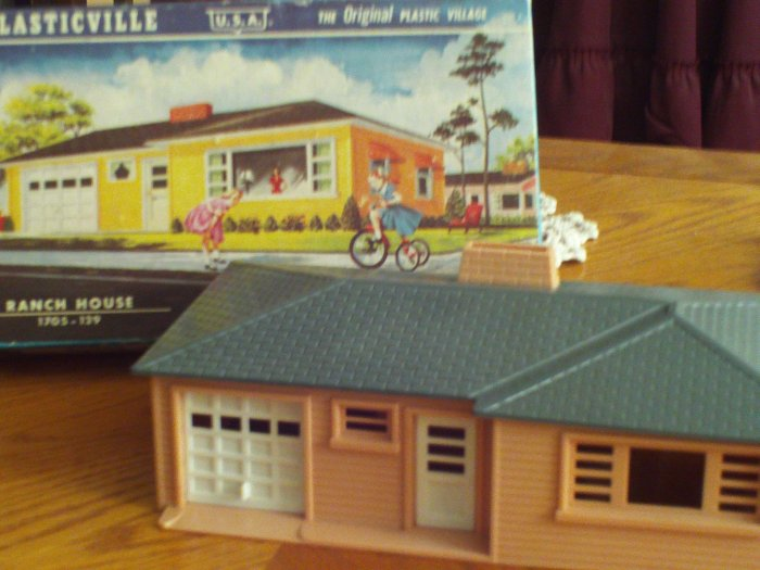Plasticville Ranch House