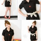 Skirt (Belt Included) Black Color