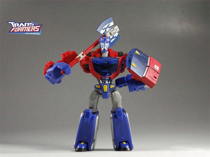 [HASBRO]2008 Transformers Animated Toys : [DeluxE] OPTIMUS PRIME