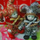 Triangel;lovely toy;[christmas prensent][1 pair][Free Shipping]