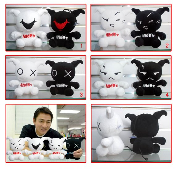 [official] Andox &Box [disigned by Andy Lau] Calf toy / doll [1 pair]