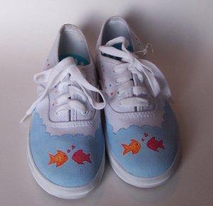 Gymboree Custom M2M Tropical Garden Shoes