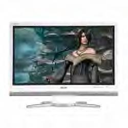 32-Inch AQUOS 1080p Gaming LCD TV (White)