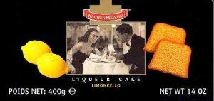 Limoncello Liqueur Cake