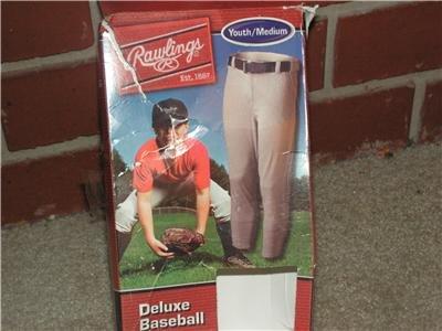 Rawlings Youth Medium Baseball Pants