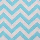 CHEVRON TABLE RUNNER-- light turquoise girly blue Chevron fabric 6 ft