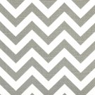 "CHEVRON TABLE RUNNER-- grey and white 72"" long wedding bridal home decor"