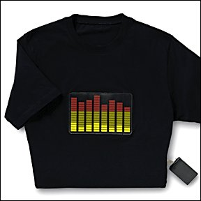 Equalizer  T-shirt (XLarge)  (batteries included)