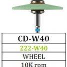 Diamond Green Stone Knife Edge CD-W40 for Zirconia Porcelain (5 Pack)