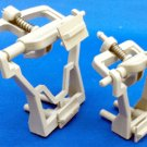 Adjustable Plastic Articulators, Small for Crown and Bridge (Box of 50 sets)