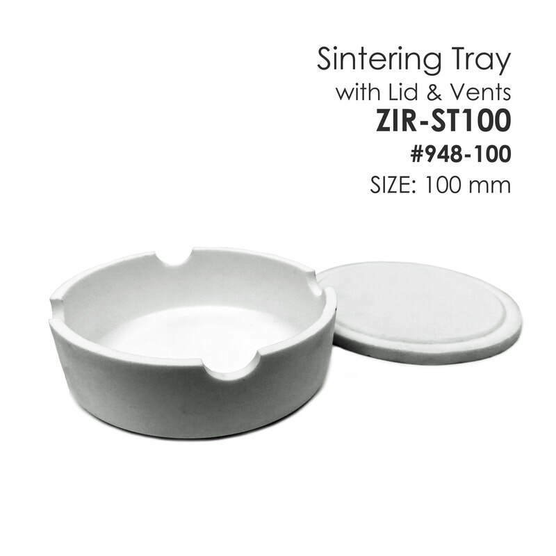 BesQual Zirconia Sintering Tray Round 100 mm - 4 inches