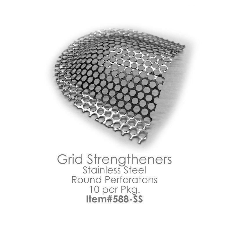 GRID STRENGTHENERS Reinforcement Mesh Stainless Steel 10pcs/box