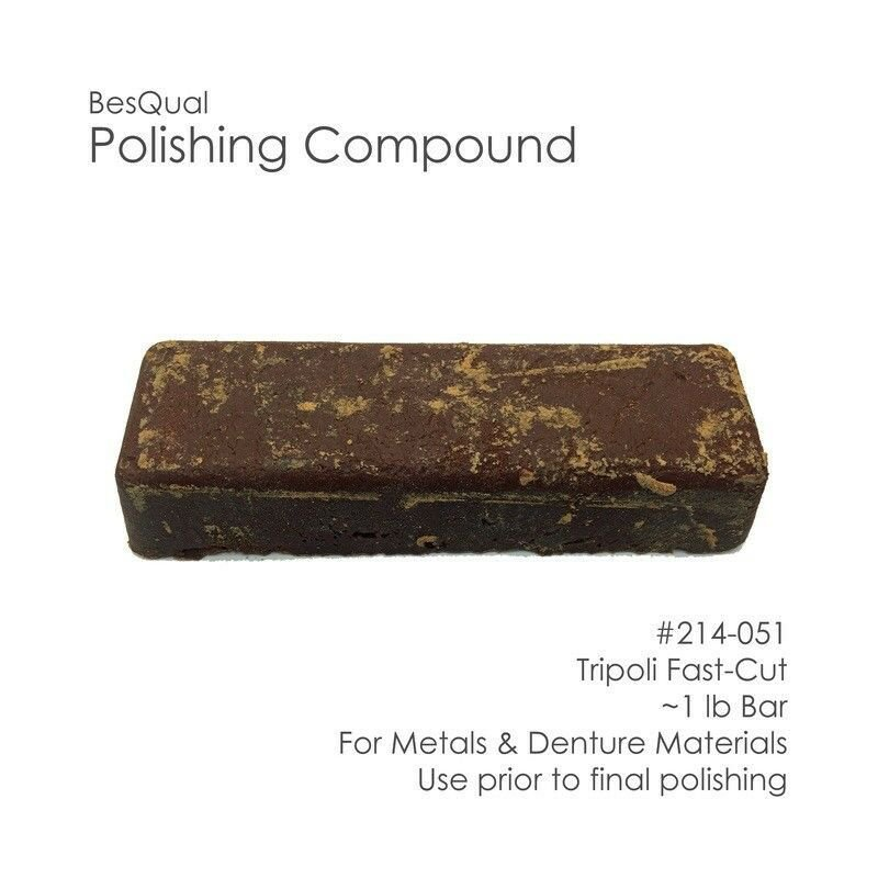 Polishing Compound Tripoli / Fast-Cut on Metals and Denture Materials