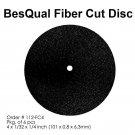FC4 BesQual Fiber Cut Disk (4x1/32x1 1/4 Inches) 6/PCK