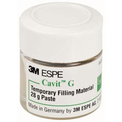 Cavit-G Single Jar, Gray (Soft) Temporary Filling Material, Self-Cure, 28 Gm