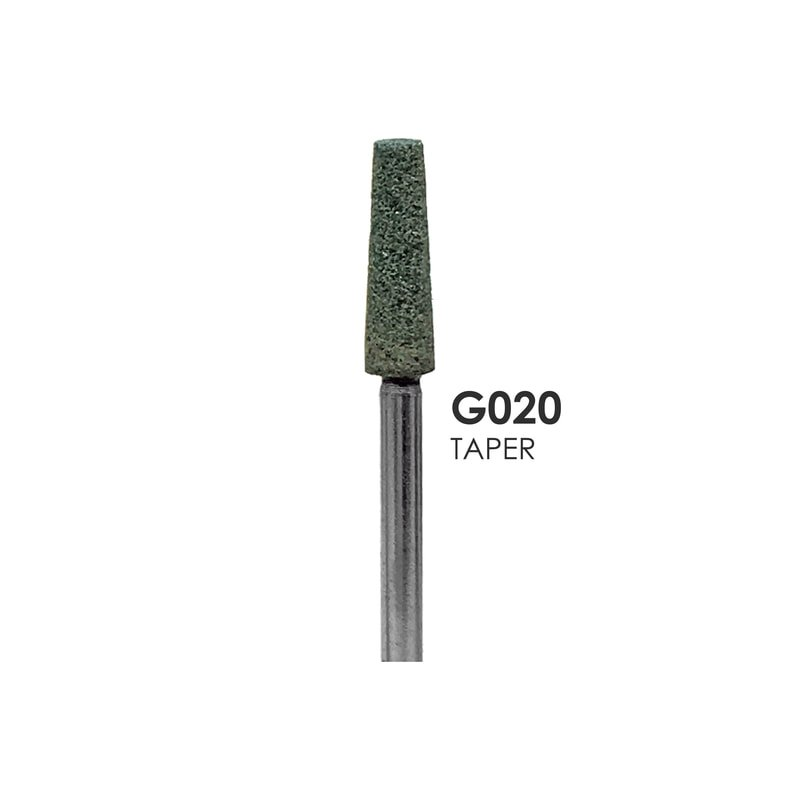 Green HP Mounted grinding Stones G020