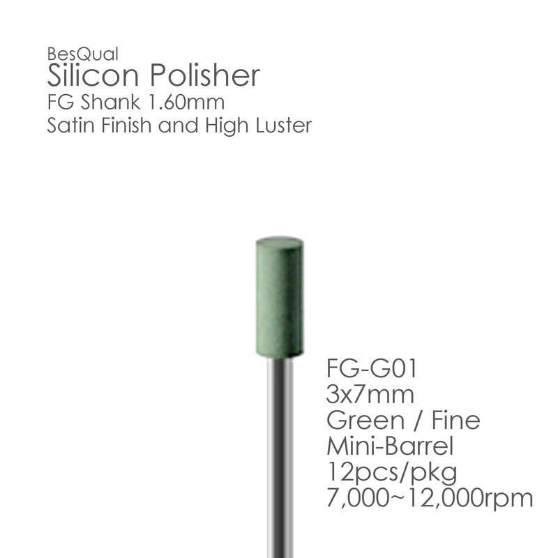 Green FG Silicon Polisher FG01