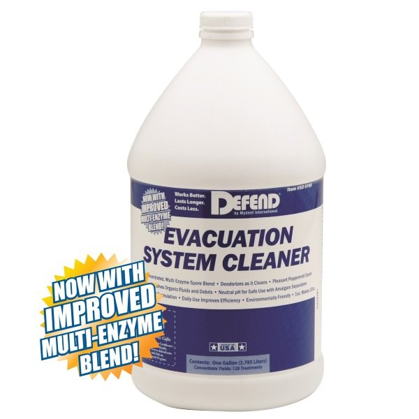 SURG Evacuation System Cleaner, 1 Gallon. Non-foaming and bio-degradable