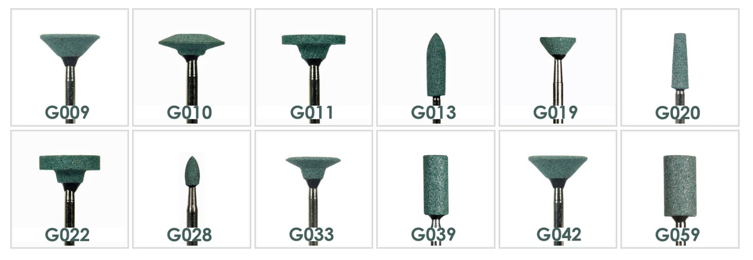 Green Mounted Stones HP G010 (100pcs)